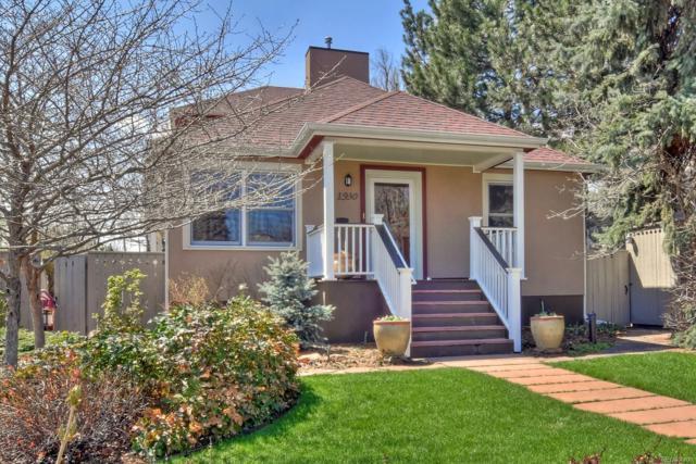 1930 Columbine Avenue, Boulder, CO 80302 (#6030590) :: The Peak Properties Group