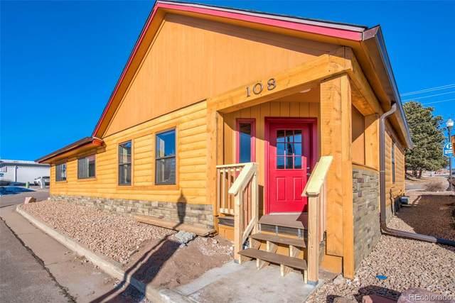 108 N Park Street, Woodland Park, CO 80863 (MLS #6036980) :: 8z Real Estate