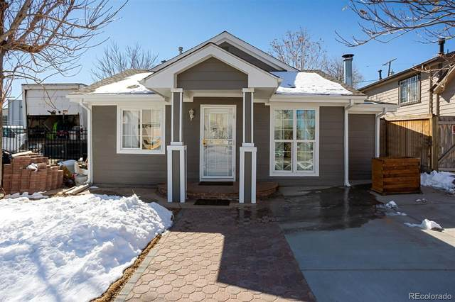 2744 W Short Place, Denver, CO 80204 (#6037287) :: Chateaux Realty Group