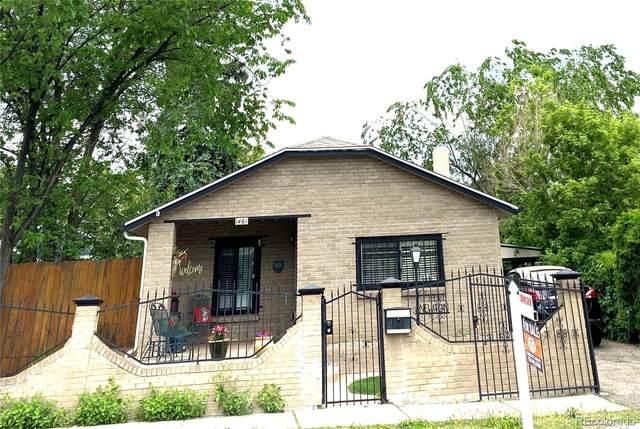 1461 Benton Street, Lakewood, CO 80214 (#6043117) :: RazrGroup