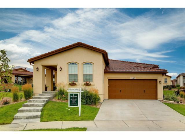 15163 W Baker Place, Lakewood, CO 80228 (MLS #6044139) :: 8z Real Estate