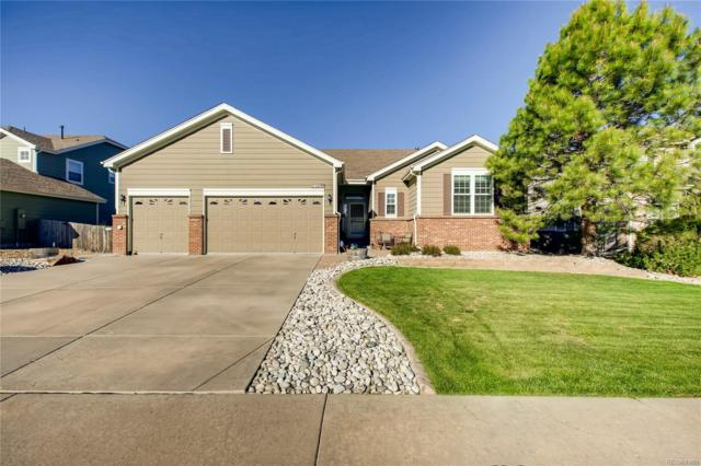 17143 E Hawksbead Drive, Parker, CO 80134 (#6047206) :: House Hunters Colorado