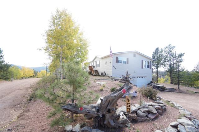 457 Little Topsey Drive, Cripple Creek, CO 80813 (#6047411) :: Bring Home Denver with Keller Williams Downtown Realty LLC