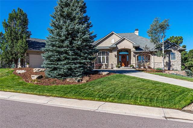 5163 Sage Thrasher Road, Parker, CO 80134 (#6050297) :: Kimberly Austin Properties