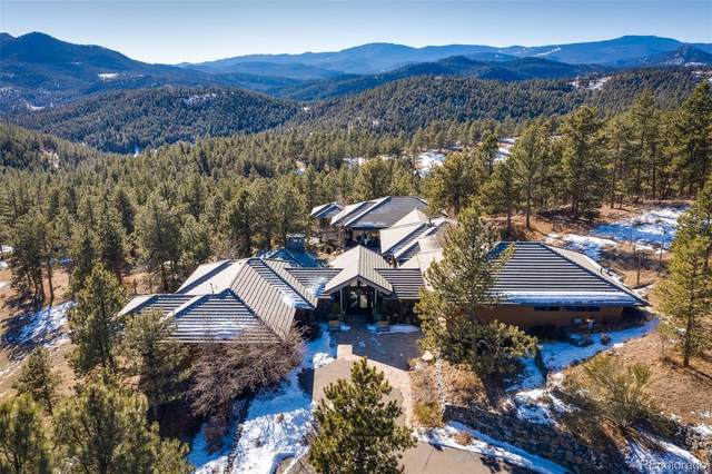 2583 Elk Valley Road, Evergreen, CO 80439 (MLS #6050769) :: 8z Real Estate