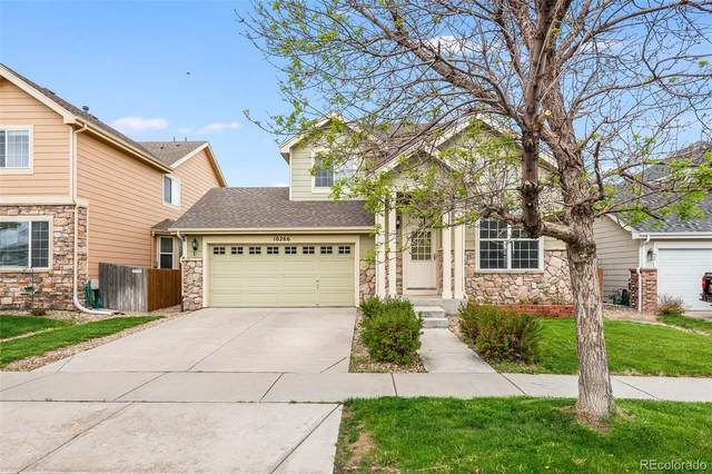 10266 E 112th Way, Commerce City, CO 80640 (#6054555) :: The Peak Properties Group
