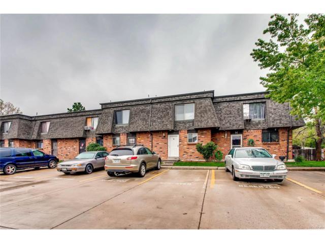14340 E Mississippi Avenue G, Aurora, CO 80012 (MLS #6055622) :: 8z Real Estate