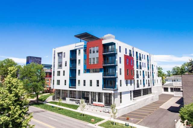 2374 S University Boulevard #409, Denver, CO 80210 (#6059594) :: Keller Williams Action Realty LLC