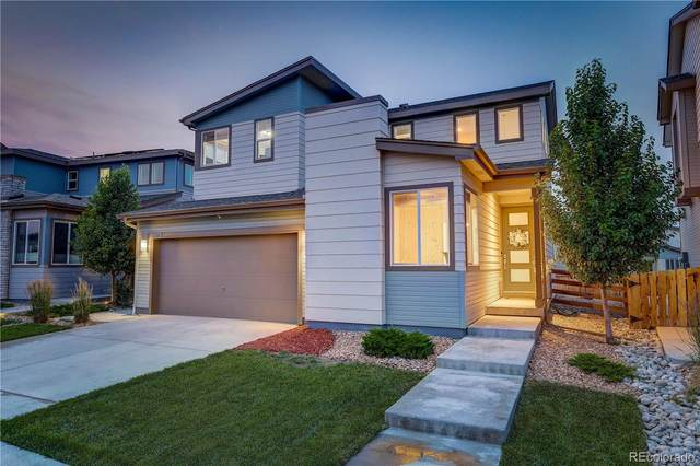 18075 E 107th Place, Commerce City, CO 80022 (#6063571) :: The Colorado Foothills Team | Berkshire Hathaway Elevated Living Real Estate