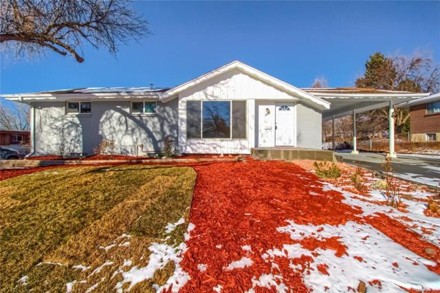 2895 E Weaver Avenue, Centennial, CO 80121 (#6065670) :: The HomeSmiths Team - Keller Williams