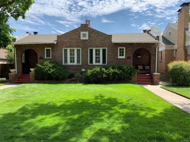 528 S Franklin Street, Denver, CO 80209 (#6069423) :: House Hunters Colorado