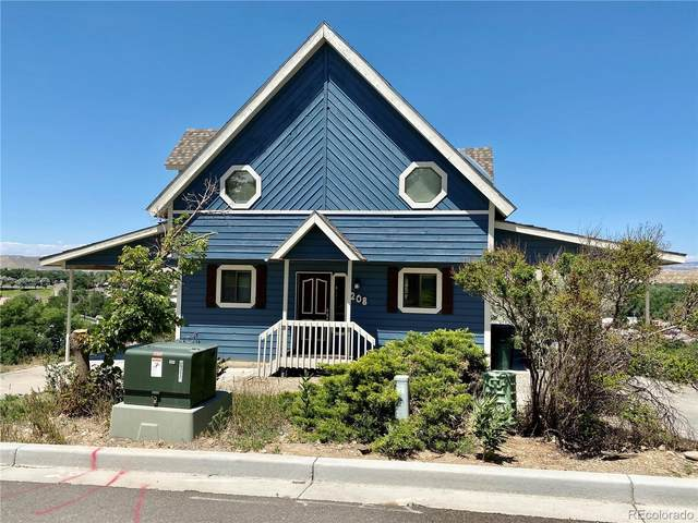 208 Hillcrest Circle, Rangely, CO 81648 (#6069969) :: Finch & Gable Real Estate Co.