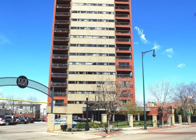 100 Park Avenue #1004, Denver, CO 80205 (#6075889) :: House Hunters Colorado