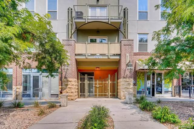 837 E 17th Avenue 1A, Denver, CO 80218 (#6085590) :: The Healey Group