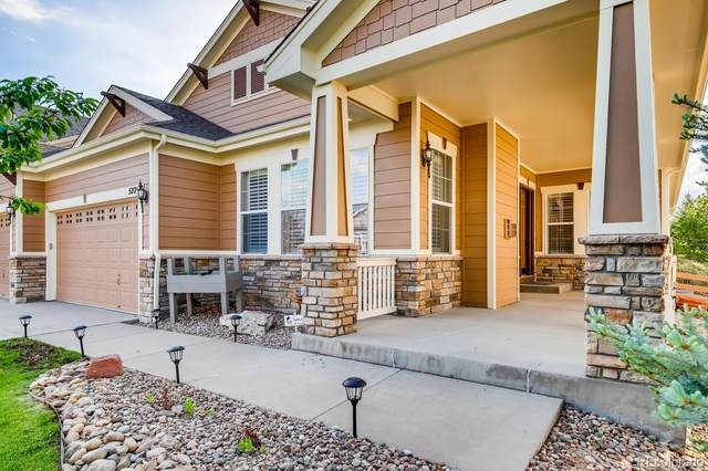 5201 Rustler Trail, Parker, CO 80134 (#6089247) :: James Crocker Team
