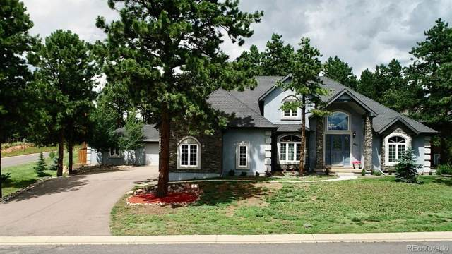 405 Fairfield Lane, Woodland Park, CO 80863 (#6091108) :: The Peak Properties Group