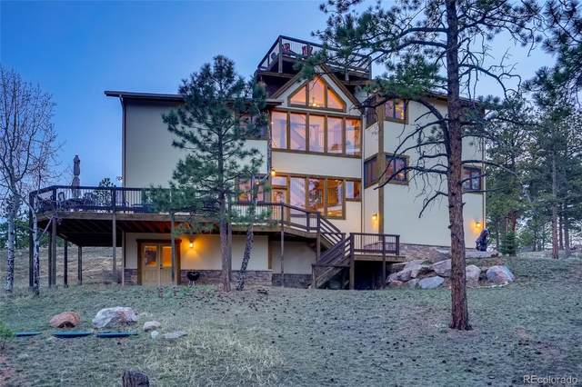 229 Mohawk Trail, Pine, CO 80470 (#6094385) :: The Colorado Foothills Team | Berkshire Hathaway Elevated Living Real Estate