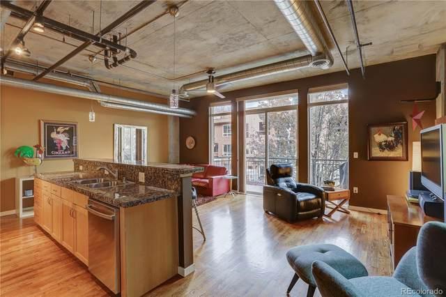 3201 Shoshone Street #103, Denver, CO 80211 (MLS #6097920) :: 8z Real Estate