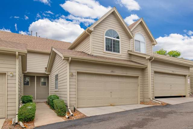 6758 Zenobia Loop #3, Arvada, CO 80030 (MLS #6099893) :: 8z Real Estate