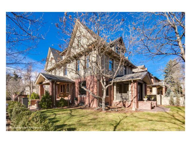 1433 E 7th Avenue, Denver, CO 80218 (#6102889) :: The Peak Properties Group