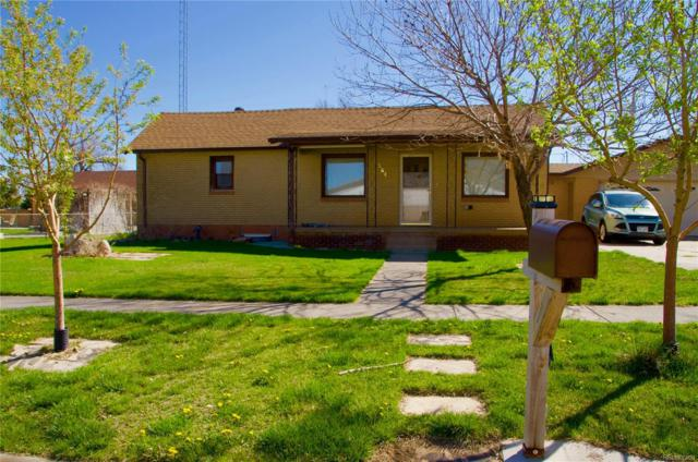 564 2nd Avenue, Deer Trail, CO 80105 (#6105633) :: Bring Home Denver with Keller Williams Downtown Realty LLC