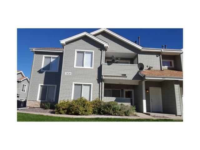 908 S Yampa Street #101, Aurora, CO 80017 (#6106802) :: The Peak Properties Group