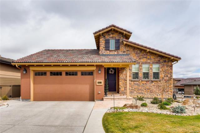 611 Sweetberry Place, Highlands Ranch, CO 80126 (#6108011) :: The Dixon Group