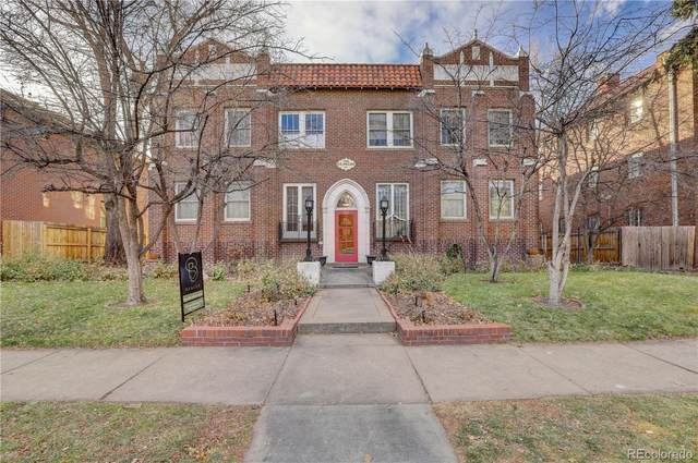 931 N Emerson Street #8, Denver, CO 80218 (MLS #6108318) :: The Sam Biller Home Team