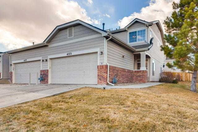 4373 S Jebel Lane, Centennial, CO 80015 (#6110833) :: The Galo Garrido Group