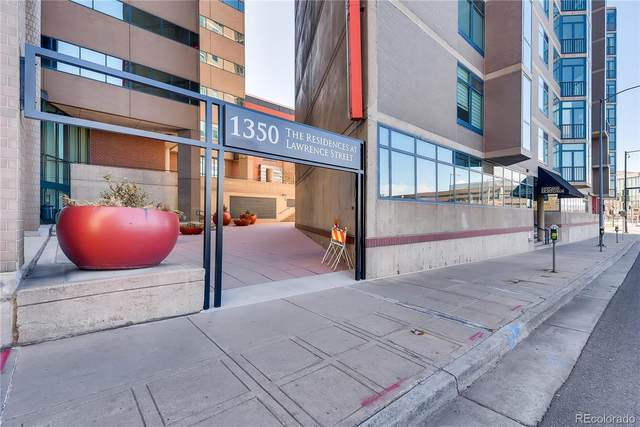 1350 Lawrence Street 5B, Denver, CO 80204 (MLS #6113206) :: 8z Real Estate