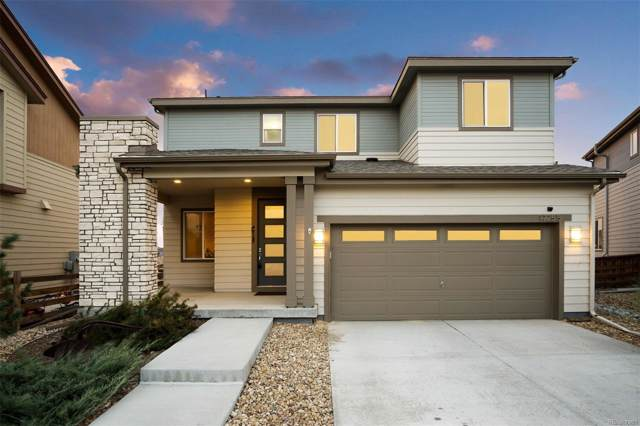 17255 E 110th Court, Commerce City, CO 80022 (#6115157) :: The Peak Properties Group
