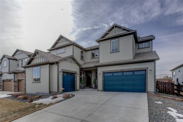 931 Stagecoach Drive, Lafayette, CO 80026 (MLS #6116731) :: 8z Real Estate