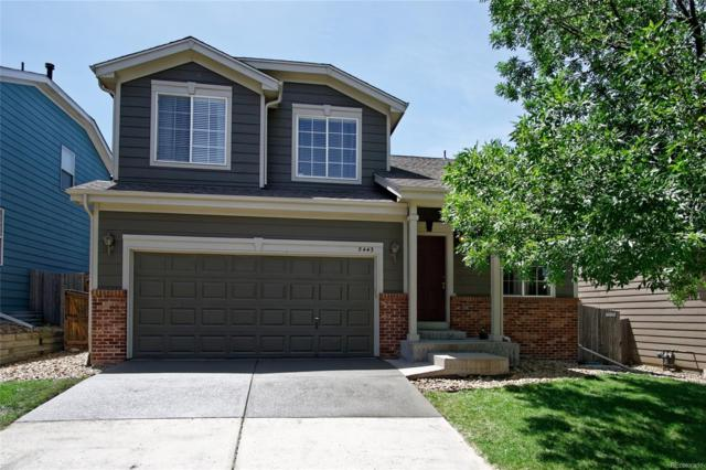 5443 Ben Park Circle, Parker, CO 80134 (#6117386) :: Colorado Home Finder Realty