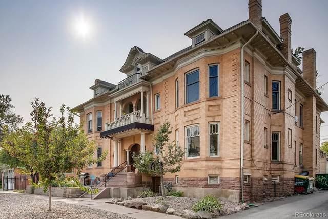 2124 E 17th Avenue #8, Denver, CO 80206 (#6120688) :: Bring Home Denver with Keller Williams Downtown Realty LLC
