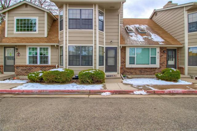 7980 Chase Circle F, Arvada, CO 80003 (#6122061) :: The Peak Properties Group