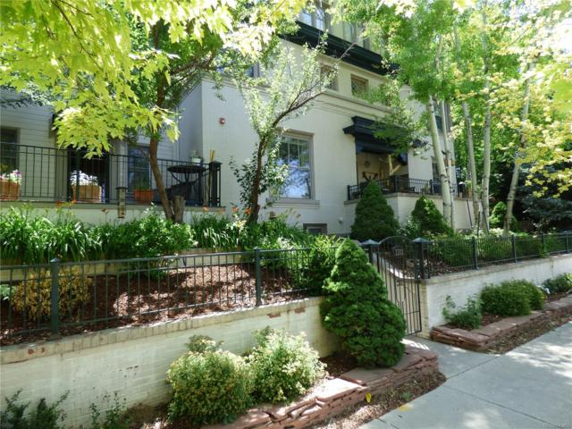 1372 Gaylord Street #3, Denver, CO 80206 (#6122168) :: The Tamborra Team