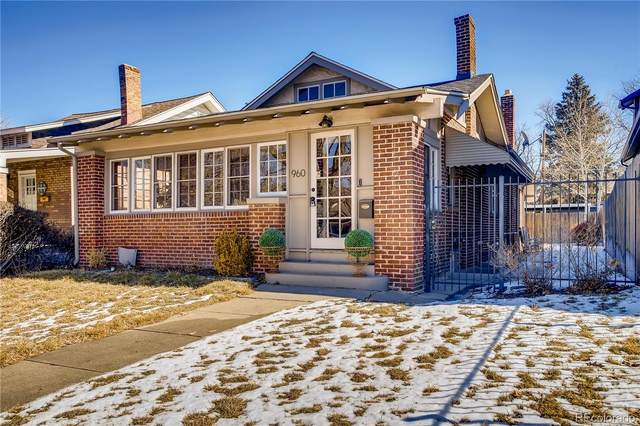960 S York Street, Denver, CO 80209 (#6122953) :: The Dixon Group