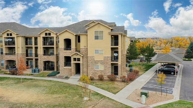 17442 Nature Walk Trail #302, Parker, CO 80134 (#6123193) :: The Gilbert Group
