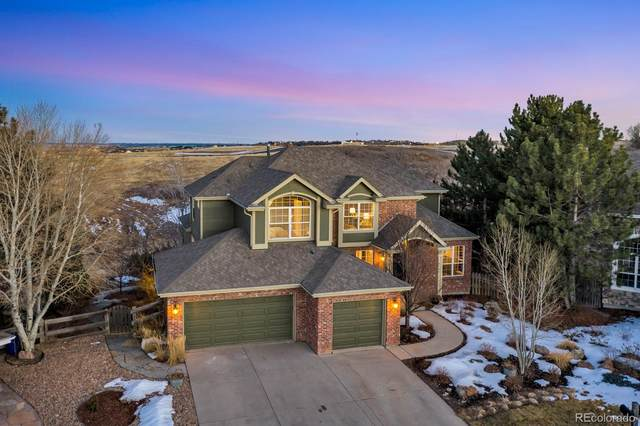 6726 Hanley Court, Castle Pines, CO 80108 (#6126300) :: iHomes Colorado