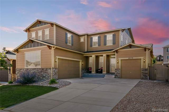 4379 Manorbrier Circle, Castle Rock, CO 80104 (MLS #6128565) :: Bliss Realty Group