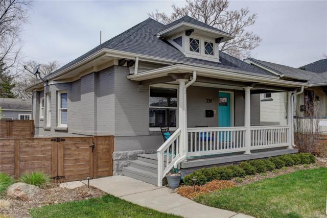 339 Washington Street, Denver, CO 80203 (#6128926) :: The Pete Cook Home Group