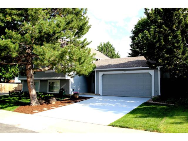 390 Fir Lane, Broomfield, CO 80020 (#6129991) :: The Peak Properties Group