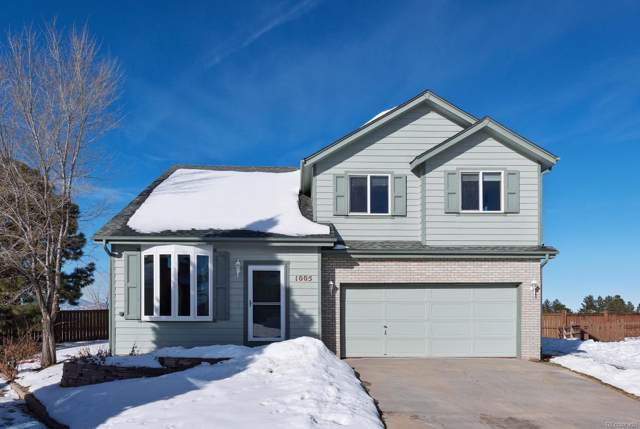 1005 Cobblestone Drive, Highlands Ranch, CO 80126 (MLS #6133353) :: 8z Real Estate