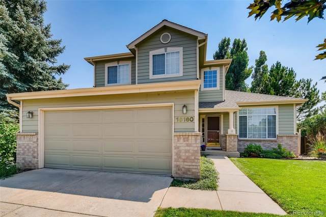 16160 Willowstone Street, Parker, CO 80134 (#6140265) :: Finch & Gable Real Estate Co.