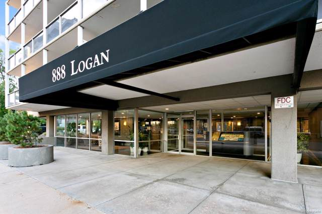 888 N Logan Street 4D, Denver, CO 80203 (MLS #6140846) :: The Space Agency - Northern Colorado Team