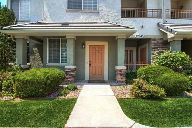 22645 E Ontario Drive #102, Aurora, CO 80016 (MLS #6141610) :: 8z Real Estate