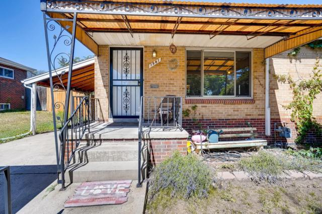 1981 S Wolff Street, Denver, CO 80219 (#6142771) :: The City and Mountains Group