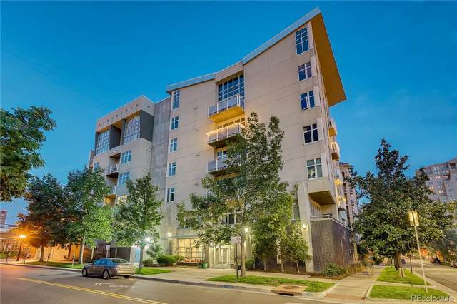 290 W 12th Avenue #603, Denver, CO 80204 (#6143420) :: The DeGrood Team
