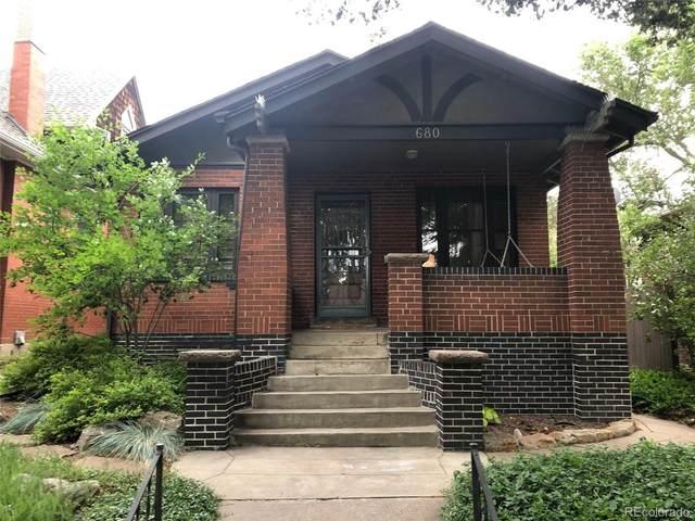 680 S Ogden Street, Denver, CO 80209 (#6144194) :: Real Estate Professionals