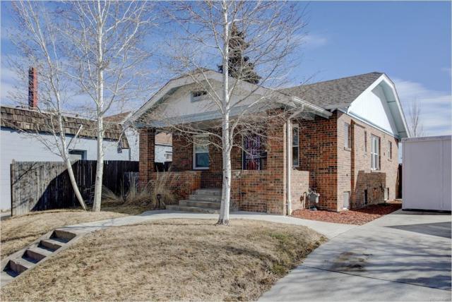 1462 Rosemary Street, Denver, CO 80220 (#6144629) :: House Hunters Colorado